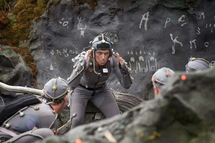 PRESS KARIN KONOVAL AS MAURICE IN DAWN OF THE PLANET OF THE APES, APE VILLAGE, PHOTO COURTESY OF 20TH CENTURY FOX