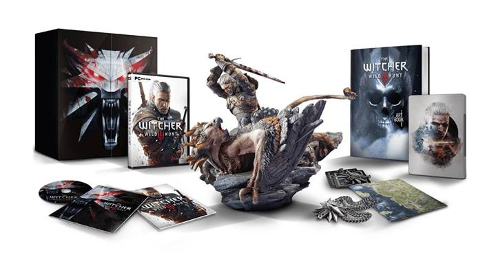 Edition collector the witcher 3